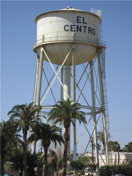 Landmark El Centro Water Tower