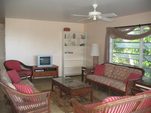 Living Area, all tropical style furnishings are included