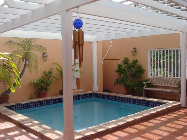 Newly done Pool is enclosed for Privacy & Convenience