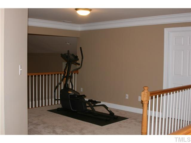 The Upstairs Loft - a great work-out area!