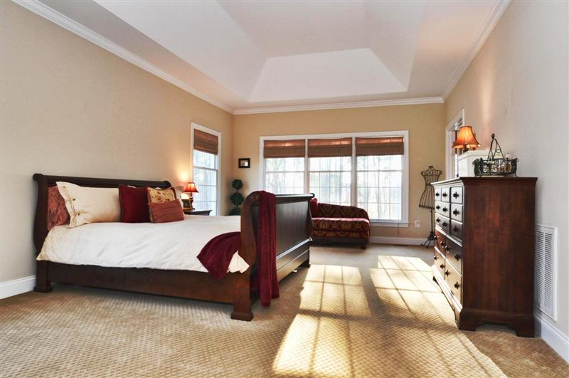 Huge master suite on the main level with sitting area