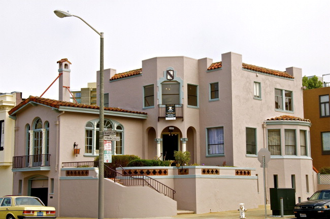 San Francisco Marina District single family home!